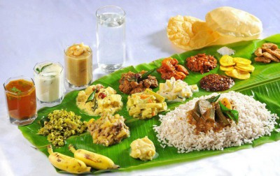Kerala Traditional Indian cuisine