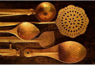 Traditional Indian Cooking Utensils -Chhanta