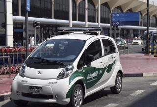 Dubai Police Electric Patrol Car
